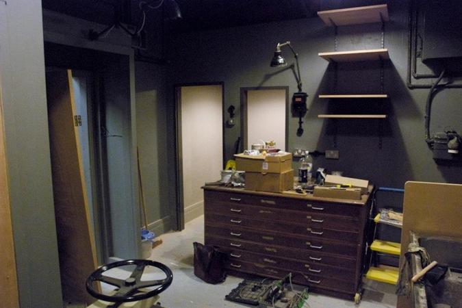In progress - the print room in progress