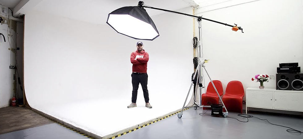 Professional right upstairs - Jump studio is separate to the Darkroom, but special rates for members