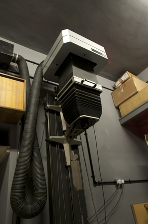 "The NG enlarger - this is the largest enlarger, capable of printing from 12x10"" negatives"