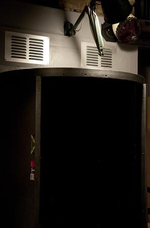 The darkroom door - the revolving darkroom