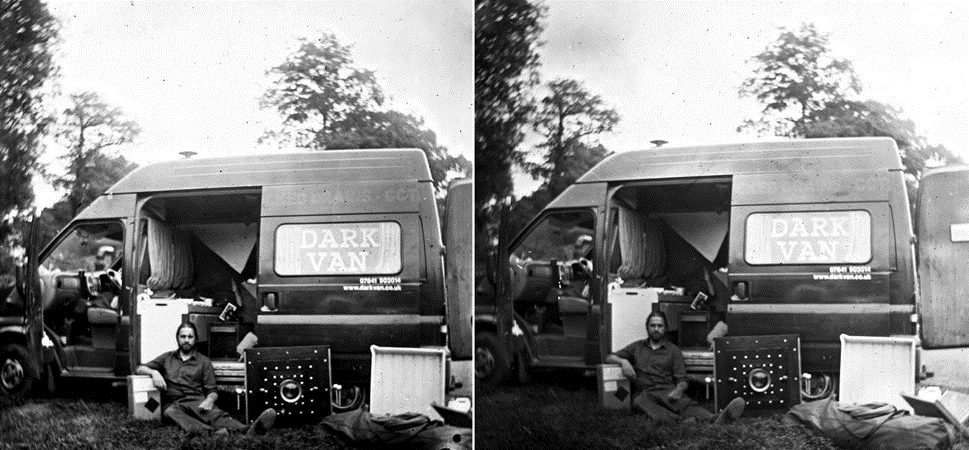 Seb and Van in Stereo by Séan MacKenna -